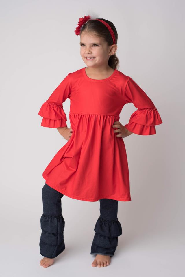 ARIANA MILK SILK TUNIC DRESS
