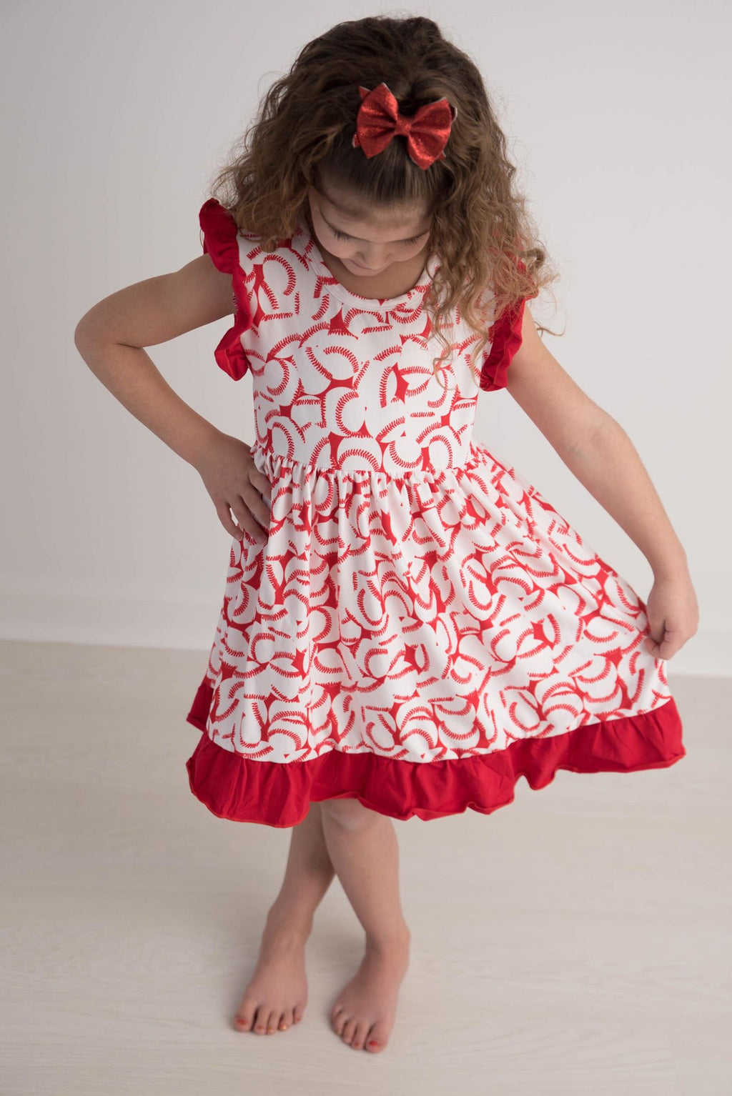 BASEBALL MARIBELLE DRESS