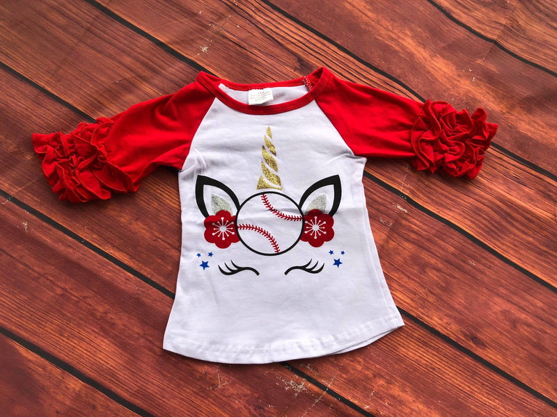 UNICORN BASEBALL RAGLAN