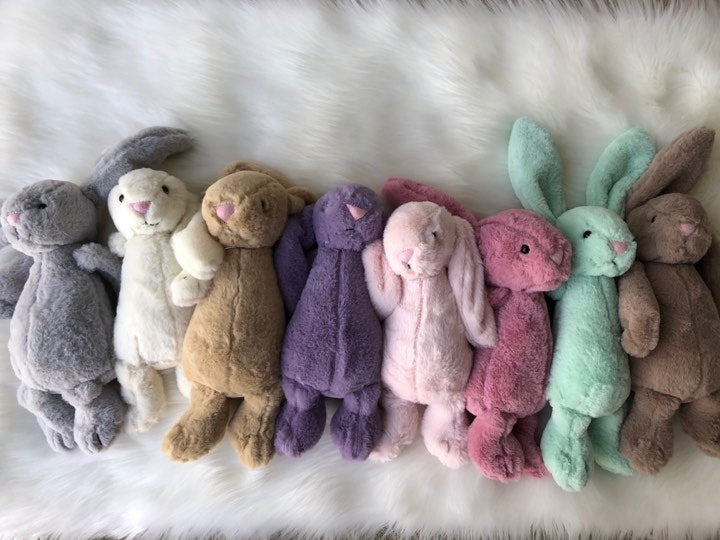 PLUSH BUNNY - 8 COLORS - PRESALE