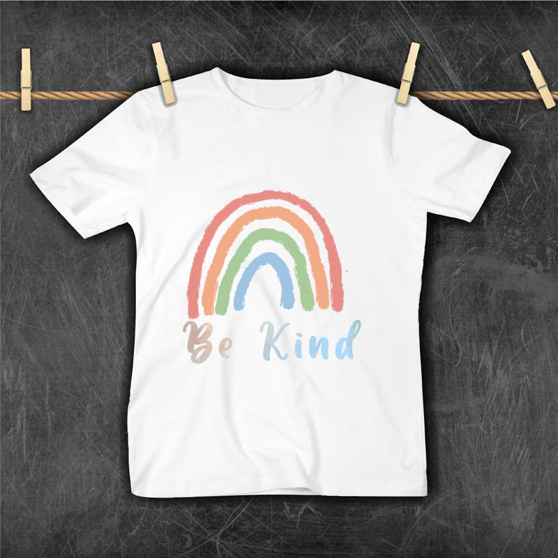 MOMMY & ME BE KIND RAINBOW TSHIRT - PRESALES