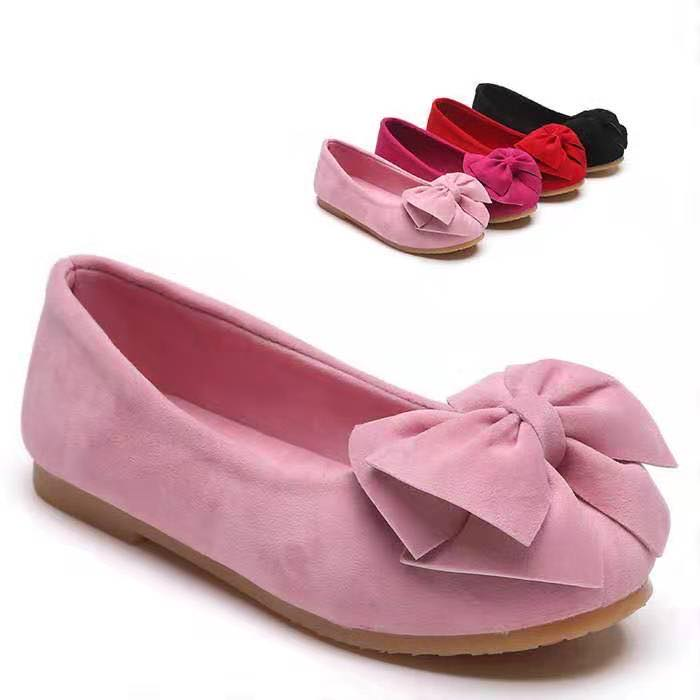 BELLA BOW SHOES - 4 COLORS