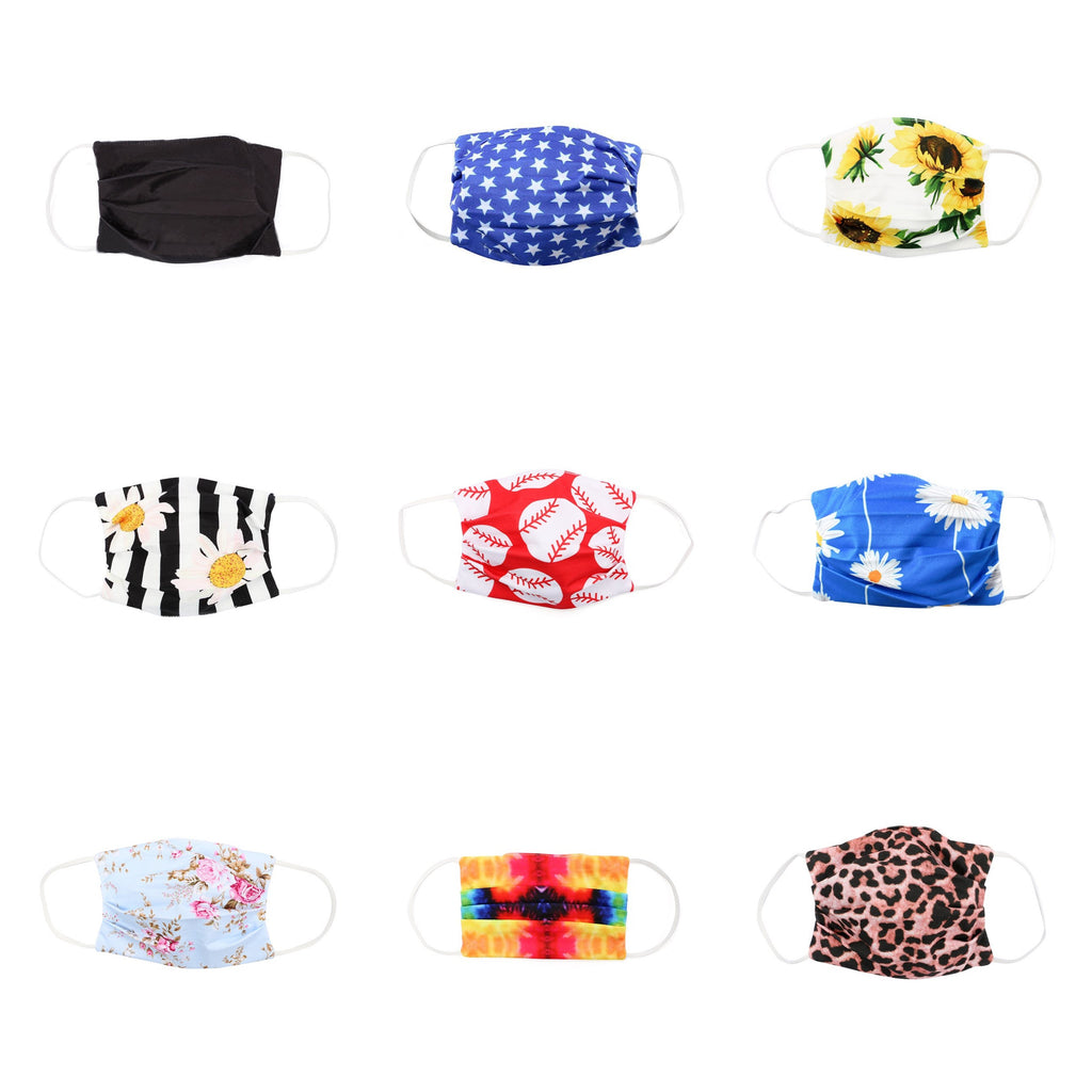 FACE MASKS - REUSABLE & WASHABLE FOR ADULTS AND KIDS - PRESALE