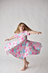 TIE & DYE TWIRLY DRESS