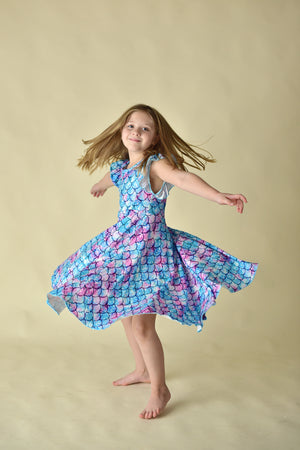 MERMAID TWIRLY DRESS