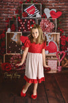 SALLY VALENTINE DRESS