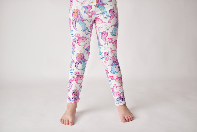 NARWHAL MILK SILK LEGGINGS