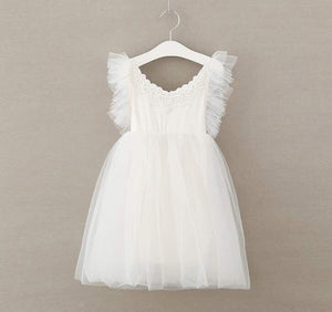 EMILY TULLE DRESS - WHITE