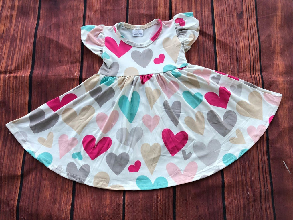 JOLENE HEART TWIRL DRESS