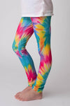 ANNA TYE DYE MILK SILK LEGGINGS