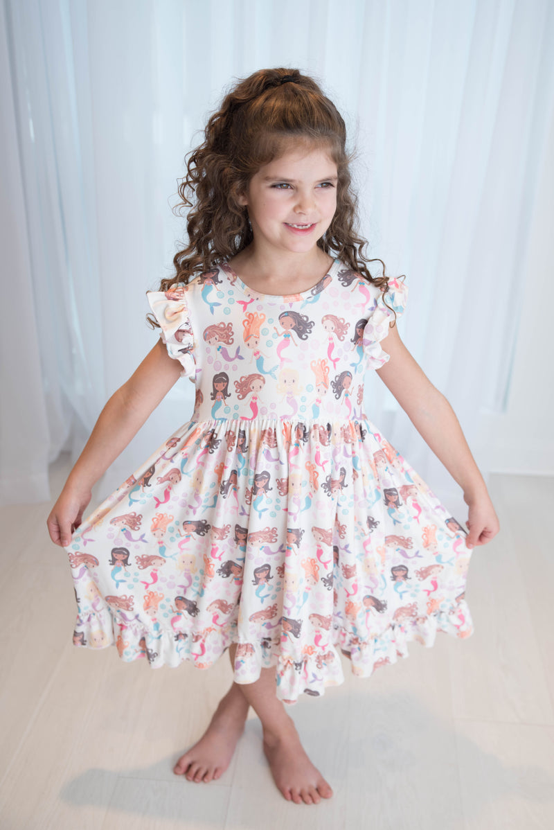 MERMAIDS MARIBELLE DRESS