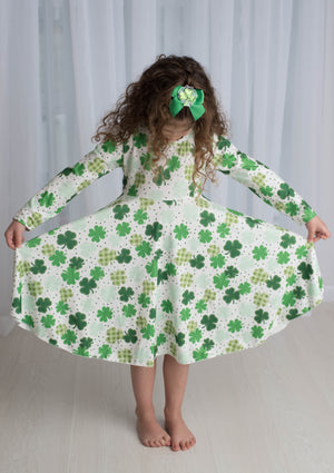 SHAMROCK TWIRL DRESS