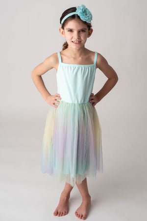 SPARKLE RAINBOW TUTU DRESS