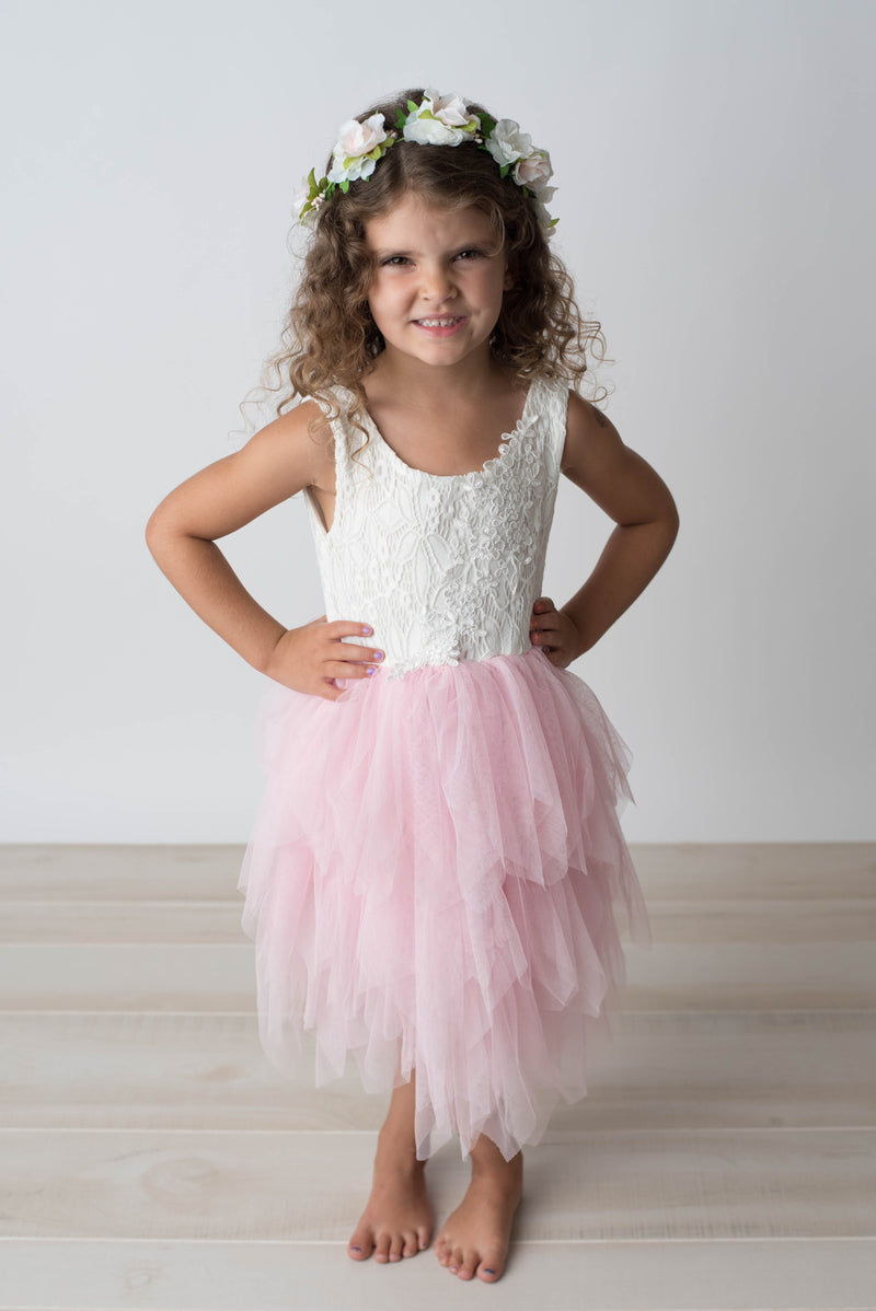 AURORA TULLE DRESS - PINK
