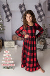 CINDY BUFFALO PLAID NIGHTGOWN
