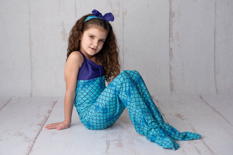 MERMAID 3 PC SWIMSUIT
