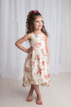 PEONIES HI LO DRESS