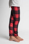 BUFFALO PLAID MILK SILK LEGGINGS
