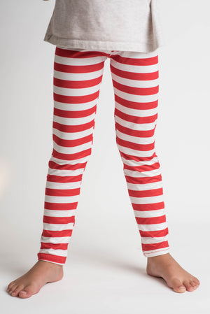 CANDY CANE MILK SILK LEGGINGS