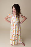 EASTER MILK SILK NIGHTGOWN