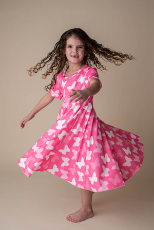 BUTTERFLY TWIRLY DRESS