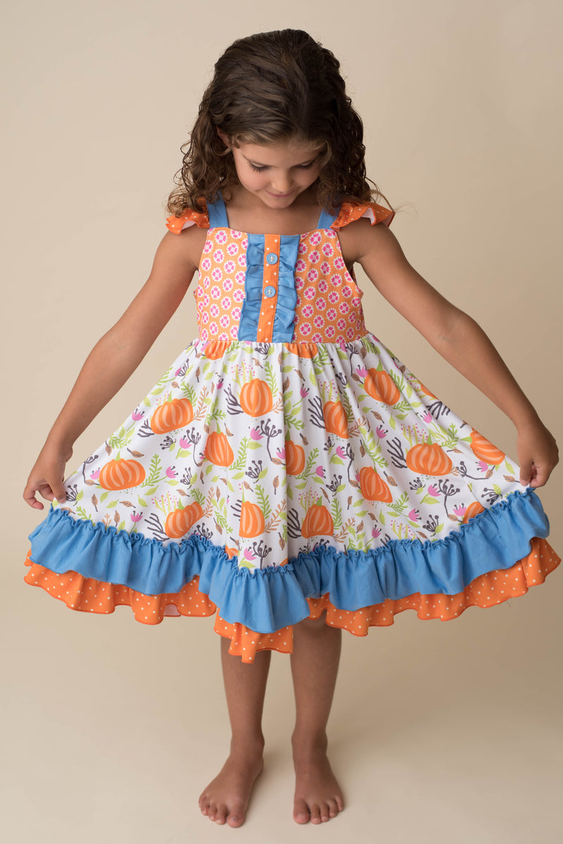 RAE PUMPKIN DRESS - PREORDER