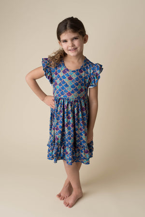 MARIBELLE MERMAID DRESS - preorder