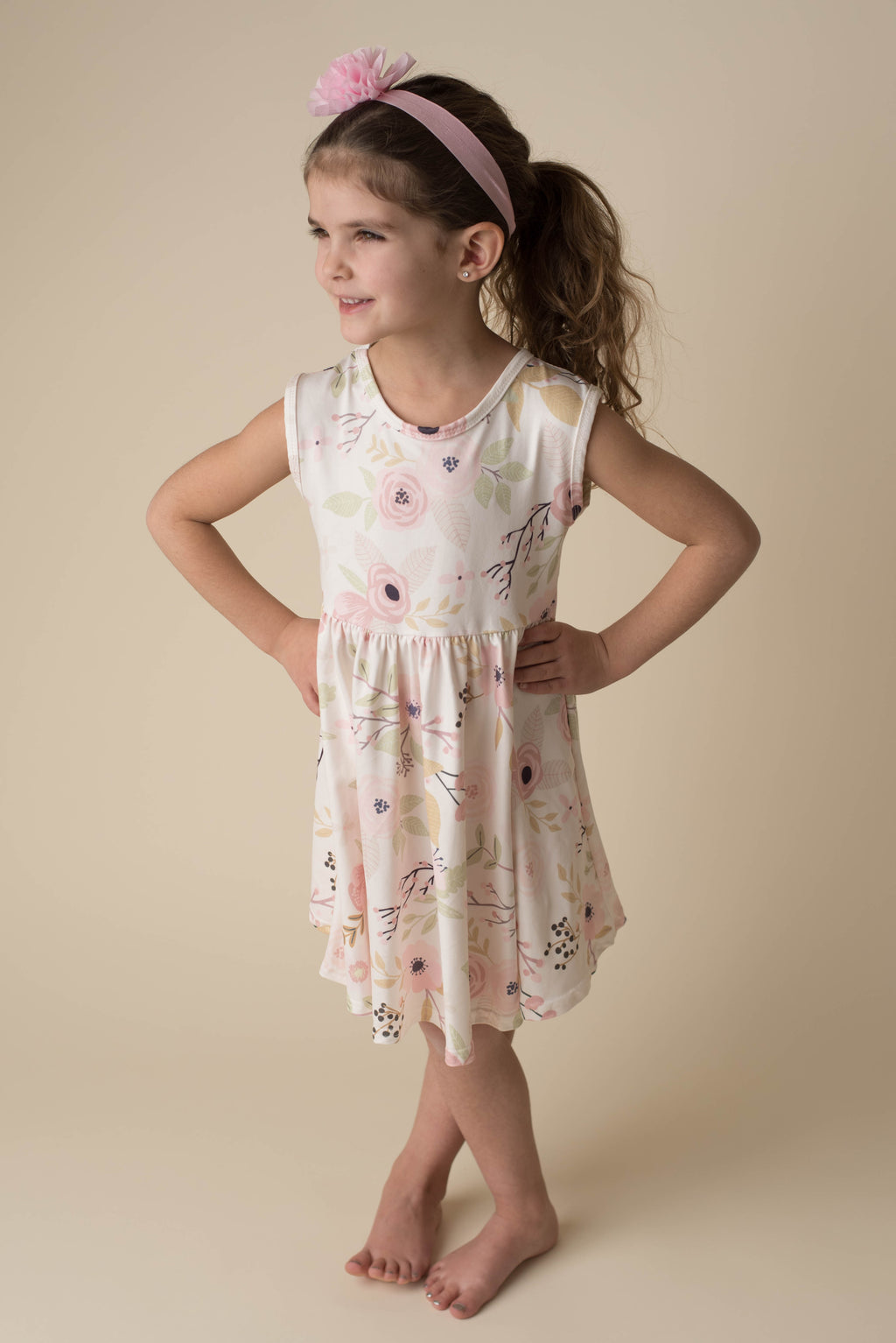 ELLA ROSE FLORAL TWIRL DRESS