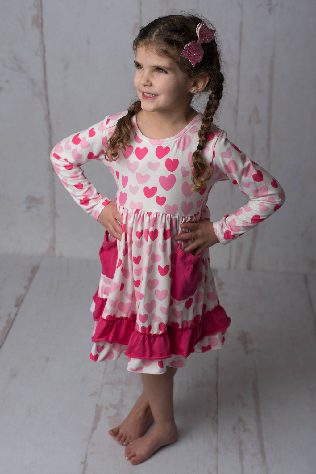 ISABEL VALENTINE  HEARTS DRESS