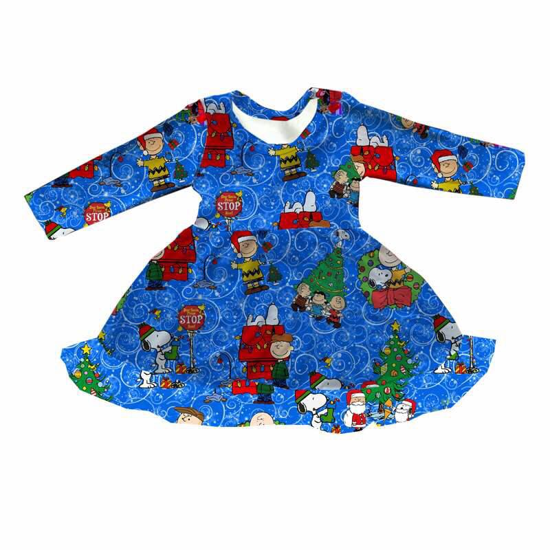 PEANUTS CHRISTMAS MIA DRESS