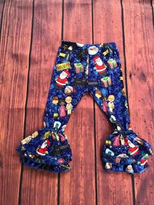 POLAR EXPRESS RUFFLE PANTS