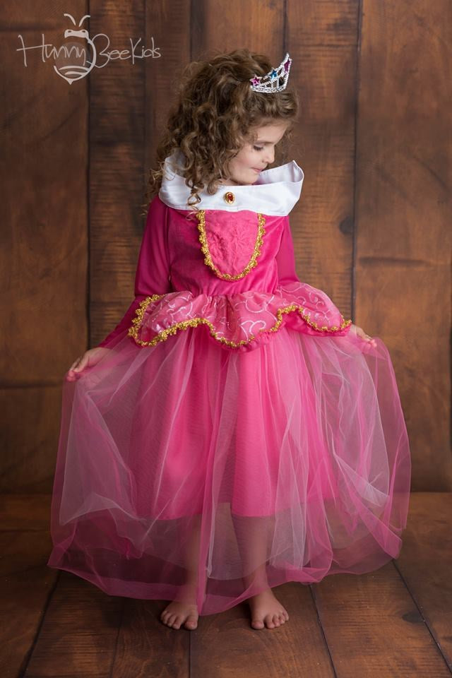 PRINCESS INSPIRED DRESS - PINK