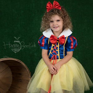 APPLE POISON TUTU DRESS WITH HEADBAND