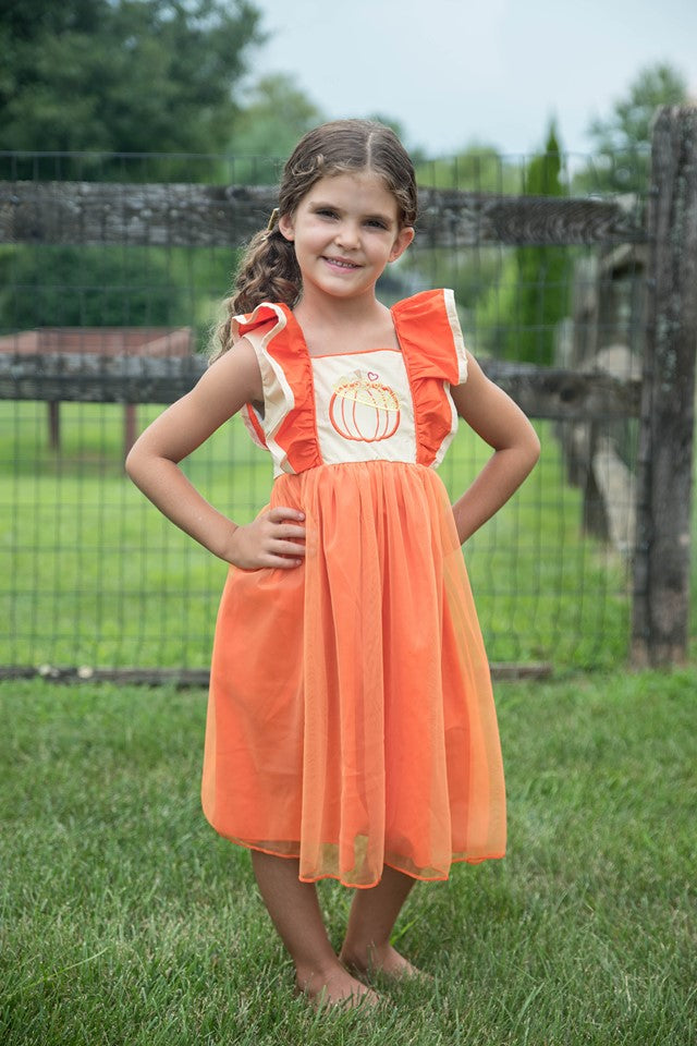 MIKAYLA PUMPKIN DRESS