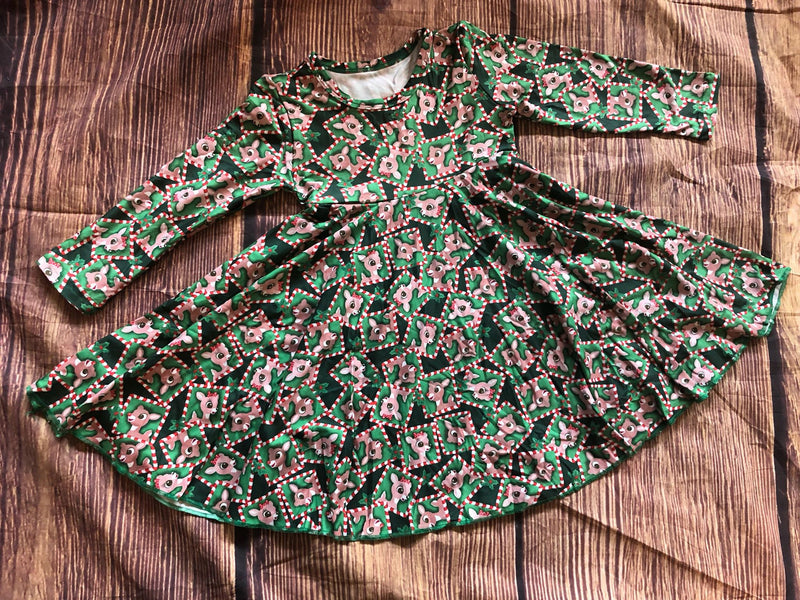 RUDOLPH TWIRL DRESS