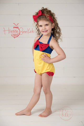 SNOW WHITE  SWIMSUIT