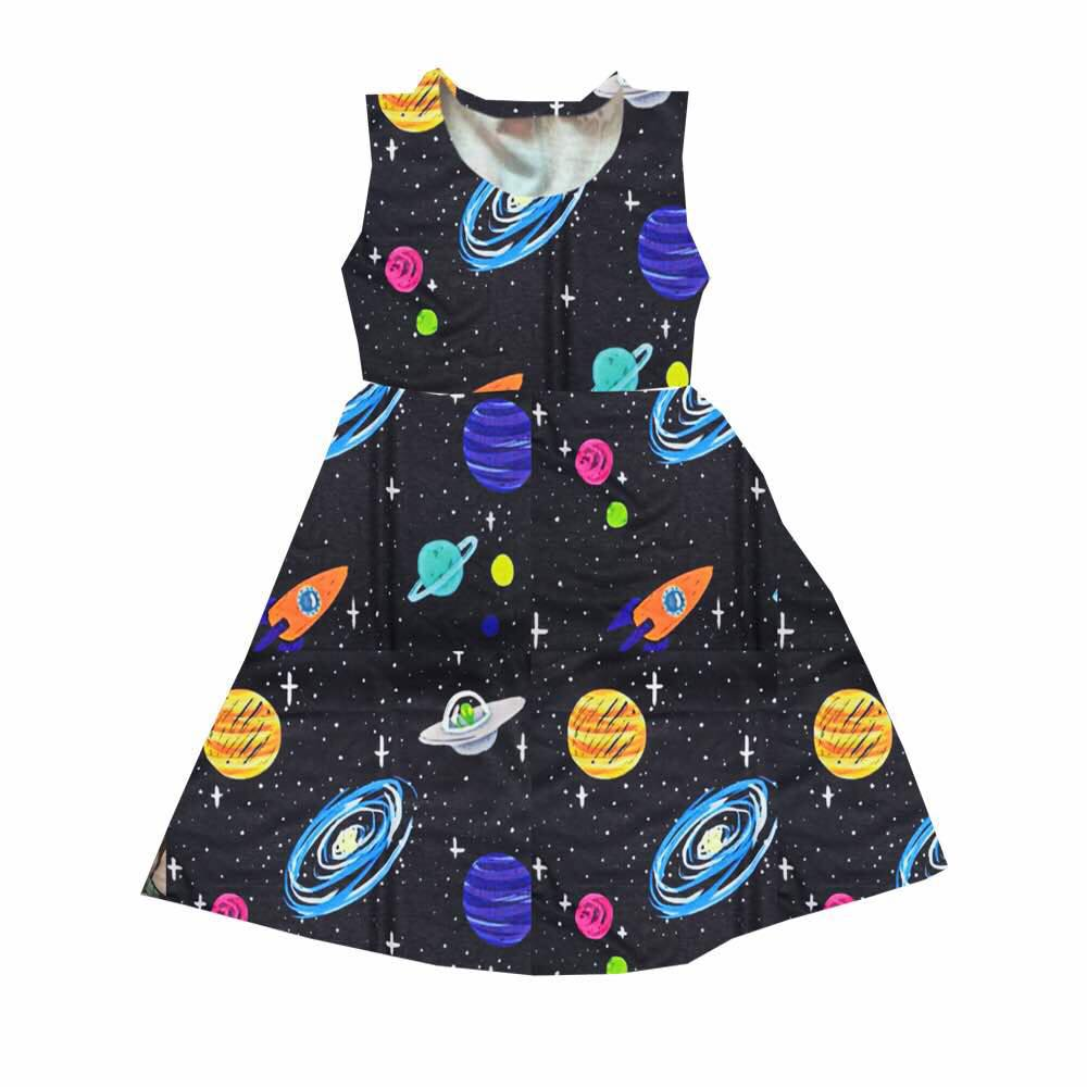 LADIES SPACE DRESS -