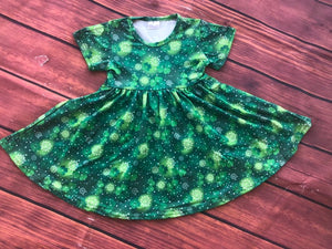 ST PATRICK'S DAY TWIRL DRESS