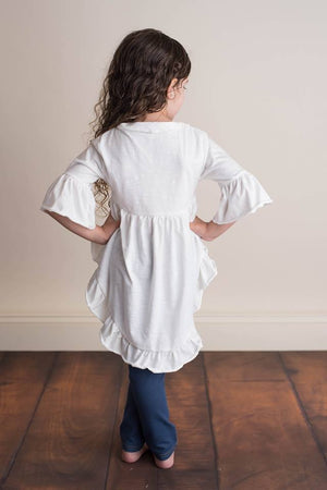 MIKAYLA HIGH LOW TUNIC TOP