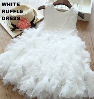 JANE RUFFLE DRESS - 3 COLORS