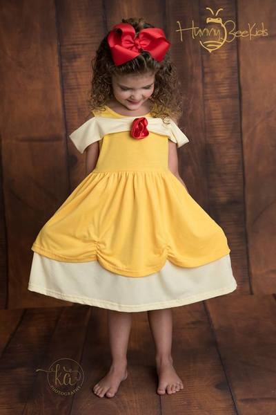 PRINCESS DRESS - YELLOW