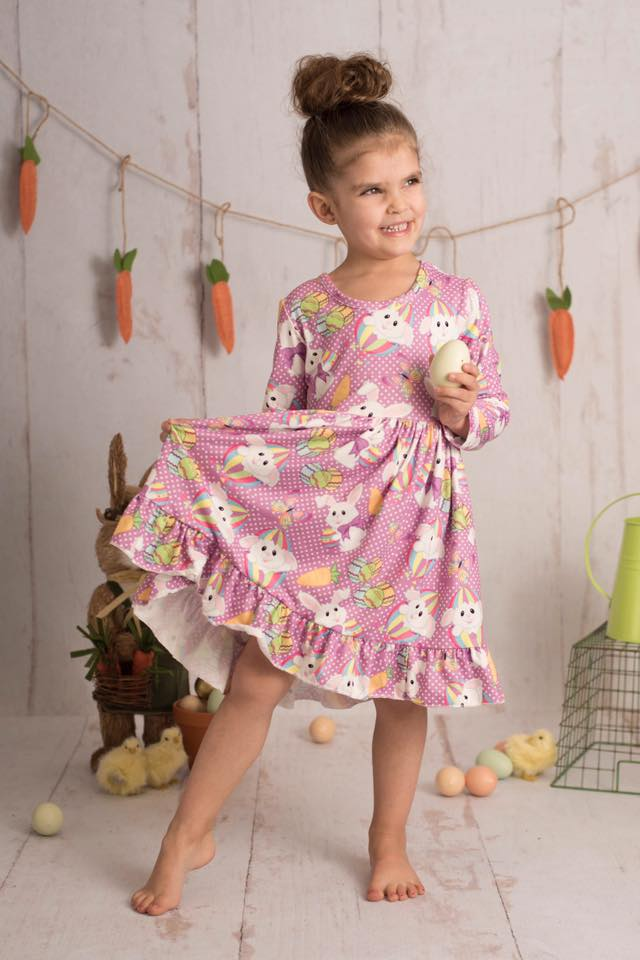 EASTER BUNNY MIA DRESS