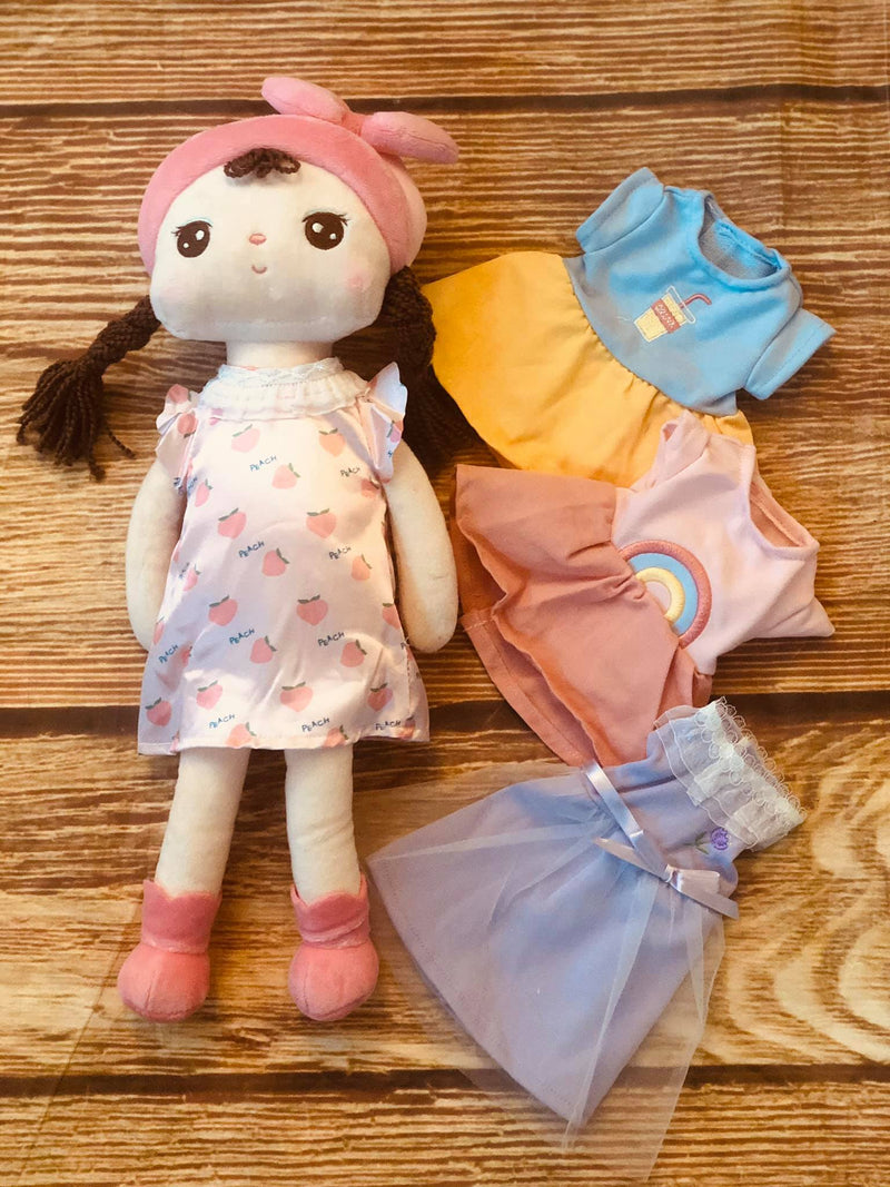 ANNIE DOLL WITH 4 CHANGE OF CLOTHES PRESALE