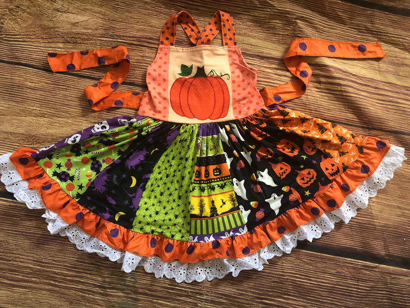 HALLOWEEN TWIRL DRESS - PREORDER