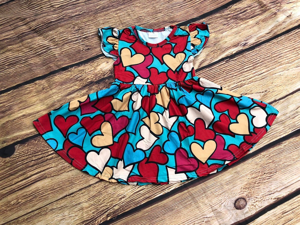 HEARTS TWIRL DRESS