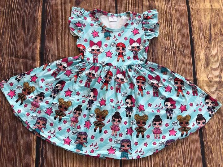 SURPRISE DOLL TWIRL DRESS