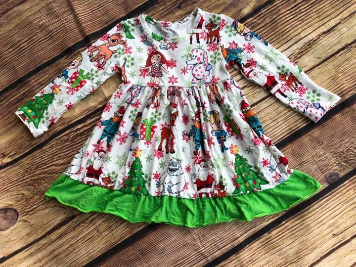 RUDOLPH AND FRIENDS MIA DRESS