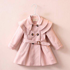 TRENCH COAT - DUST PINK