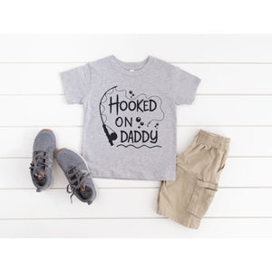 HOOKED ON DADDY T-SHIRT