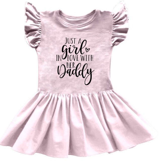 JUST A GIRL IN LOVE WITH HER DADDY DRESS PRESALE